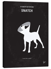 Canvas  No079 My Snatch minimal movie poster - chungkong