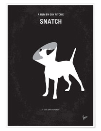 Poster No079 My Snatch minimal movie poster