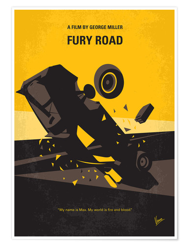 Premium poster No051 My Mad Max 4 minimal movie poster