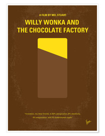 Premium poster Willy Wonka And The Chocolate Factory