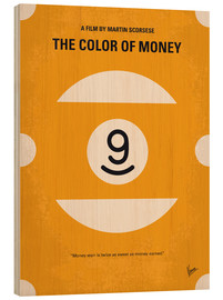 Wood print  The Color Of Money - chungkong