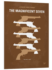 Foam board print  The Magnificent Seven - chungkong