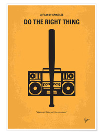 Premium poster Do The Right Thing