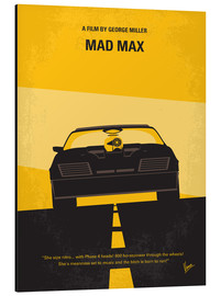 Alu-Dibond  No051 My Mad Max 1 minimal movie poster - chungkong