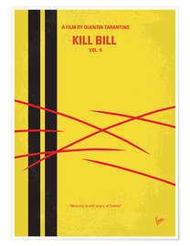 Poster No049 My Kill Bill  part2 minimal movie poster