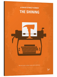 Alu-Dibond  No094 My The Shining minimal movie poster - chungkong