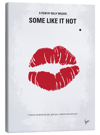 Canvas print  No116 My SOME LIKE IT HOT minimal movie poster - chungkong