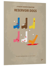 Forex  No069 My Reservoir Dogs minimal movie poster - chungkong