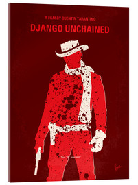 Acrylic glass  No184 My Django Unchained minimal movie poster - chungkong