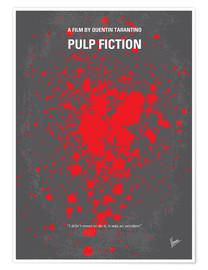 Poster  No067 My Pulp Fiction minimal movie poster - chungkong