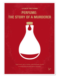 Premium poster No194 My Perfume The Story of a Murderer minimal movie poster