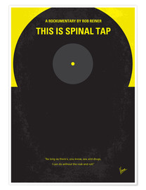 Premium poster No143 My This Spinal Tap minimal movie poster