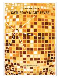 Premium poster Saturday Night Fever