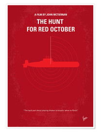 Premium poster The Hunt For Red October