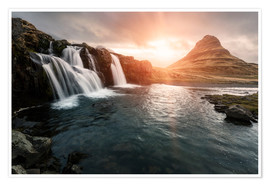 Premium poster  Kirkjufell - Images Beyond Words
