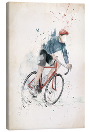 Canvas  I want to ride my bicycle - Balazs Solti