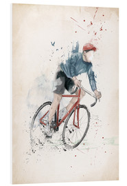 Foam board print  I want to ride my bicycle - Balazs Solti