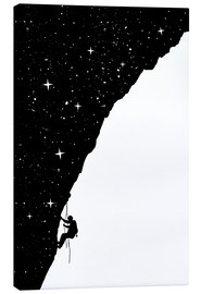 Canvas print  Nightclimbing - Balazs Solti
