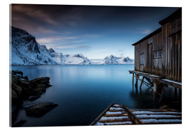 Acrylic print  the last house from Norway - Andy Donath