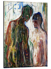 Aluminium print  Cupid and psyche - Edvard Munch