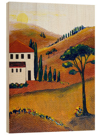 Wood  Colours of Tuscany - Christine Huwer