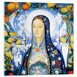 Acrylic print  The Virgin - Joseph Stella