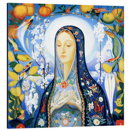 Aluminium print  the virgin - Joseph Stella