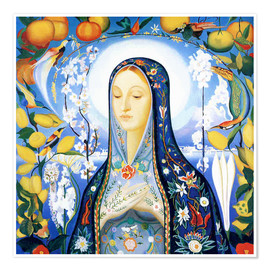 Premium poster  the virgin - Joseph Stella