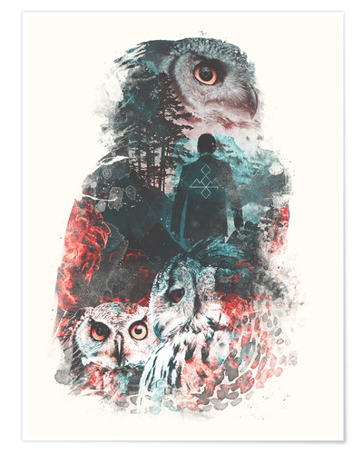 Premium poster The Owls are Not What They Seem