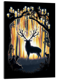 Acrylic print  The God of the forest - Barrett Biggers