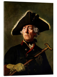 Acrylic print  Frederick the Great - Wilhelm Camphausen