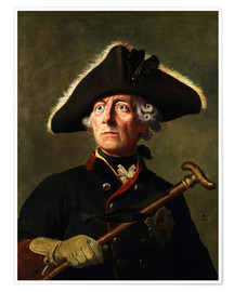 Premium poster  Frederick the Great - Wilhelm Camphausen
