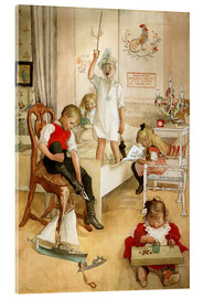 Acrylic print  On the morning of Christmas Day - Carl Larsson