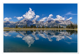 Poster  Mountain Range Wilder Kaiser - Achim Thomae
