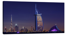 Canvas  Dubai Cityscape; United Arab Emirates - Achim Thomae
