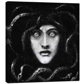 Canvas print  Medusa 2 - Franz von Stuck