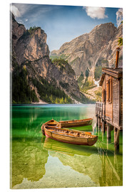 Acrylic glass  Braies Lake - Salvadori Chiara