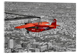 Acrylic print  Sightseeing flight over Barcelona - jens hennig