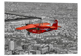 Foam board print  Sightseeing flight over Barcelona - jens hennig