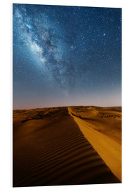Forex  Milky way over dunes, Oman - Matteo Colombo