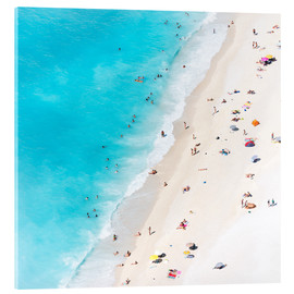 Acrylic print  Summer on the beach, Greece - Matteo Colombo