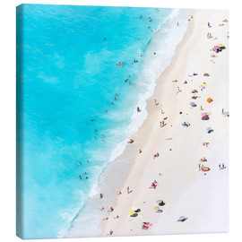 Canvas  Summer on the beach, Greece - Matteo Colombo