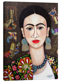 Canvas print  Frida thoughts - Madalena Lobao-Tello