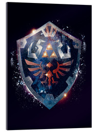 Acrylic print  Epic Shield of Hyrule - Barrett Biggers