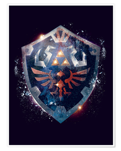 Premium poster Epic Shield of Hyrule