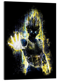 Acrylic glass  Vegeta Fury - Barrett Biggers