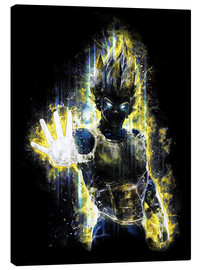 Canvas print  Vegeta Fury - Barrett Biggers