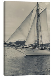 Canvas print  Schooner Festival - Sailing ship in Gloucester harbor - Walter Bibikow