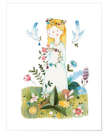 Premium poster  Spring Is Coming - Judith Loske