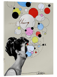 Acrylic print  Everything is a universe - Loui Jover